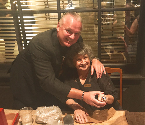 Morten Andersen with Sweigart Cigar Co.